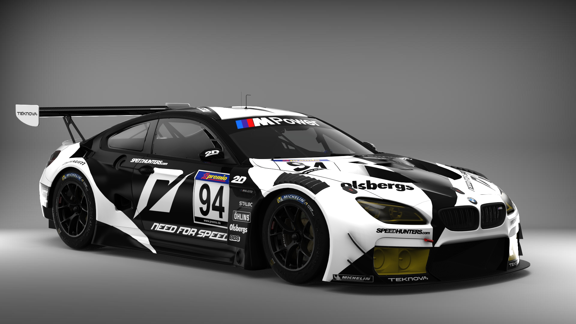 Bmw M6 Gt3 Andyblackmore S Need For Speed Livery