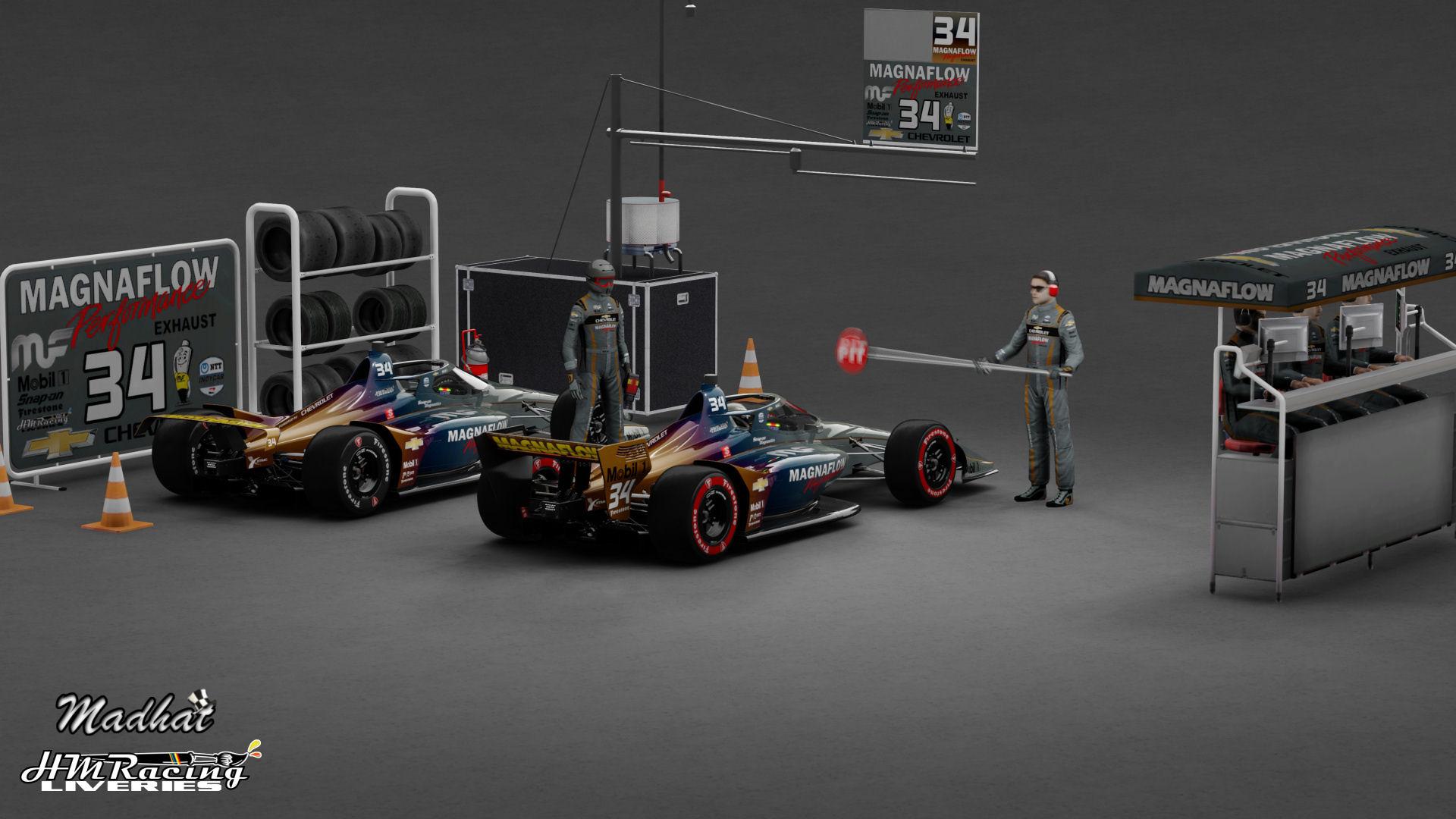 MAGNAFLOW 34 IndyCar Madhat HMRacing Liveries 05.jpg