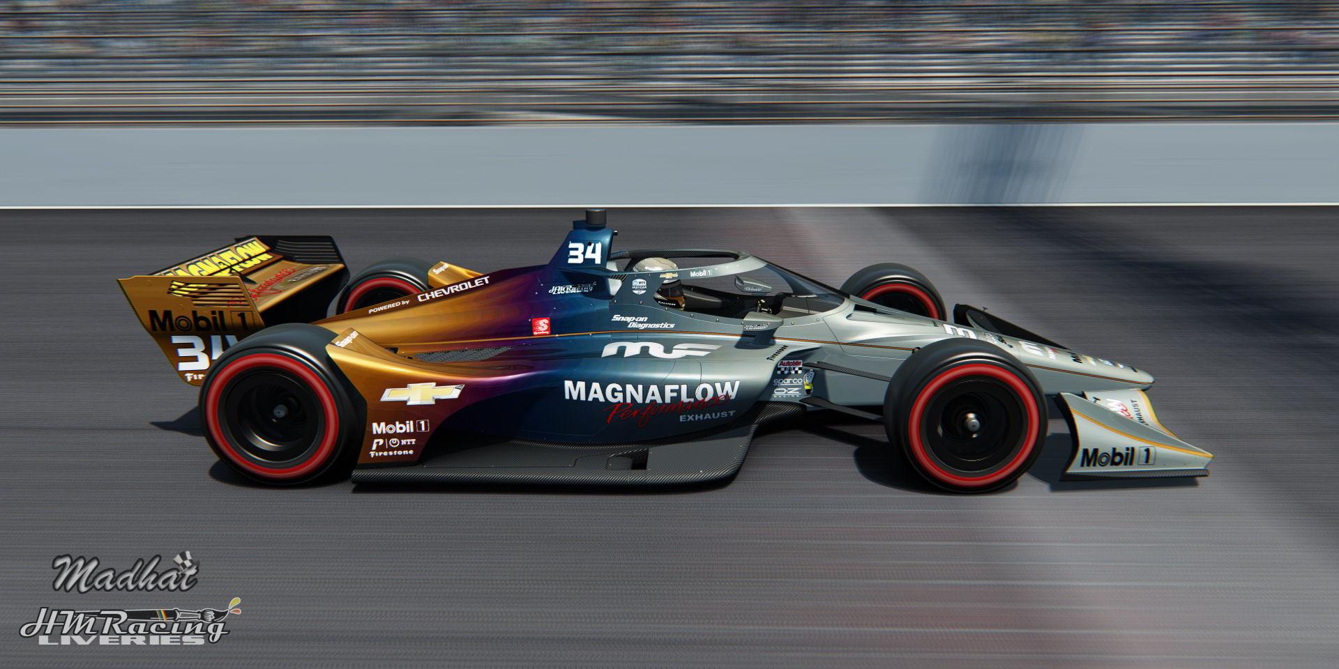 MAGNAFLOW 34 IndyCar Madhat HMRacing Liveries 10.jpg