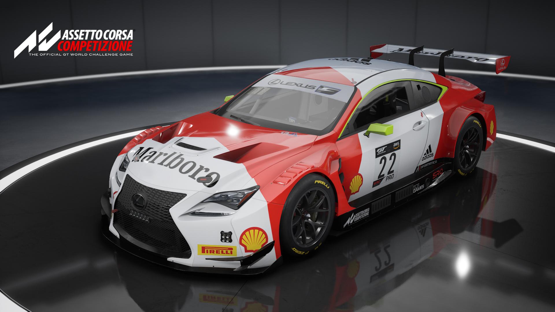 Marlboro Lexus Front.jpg