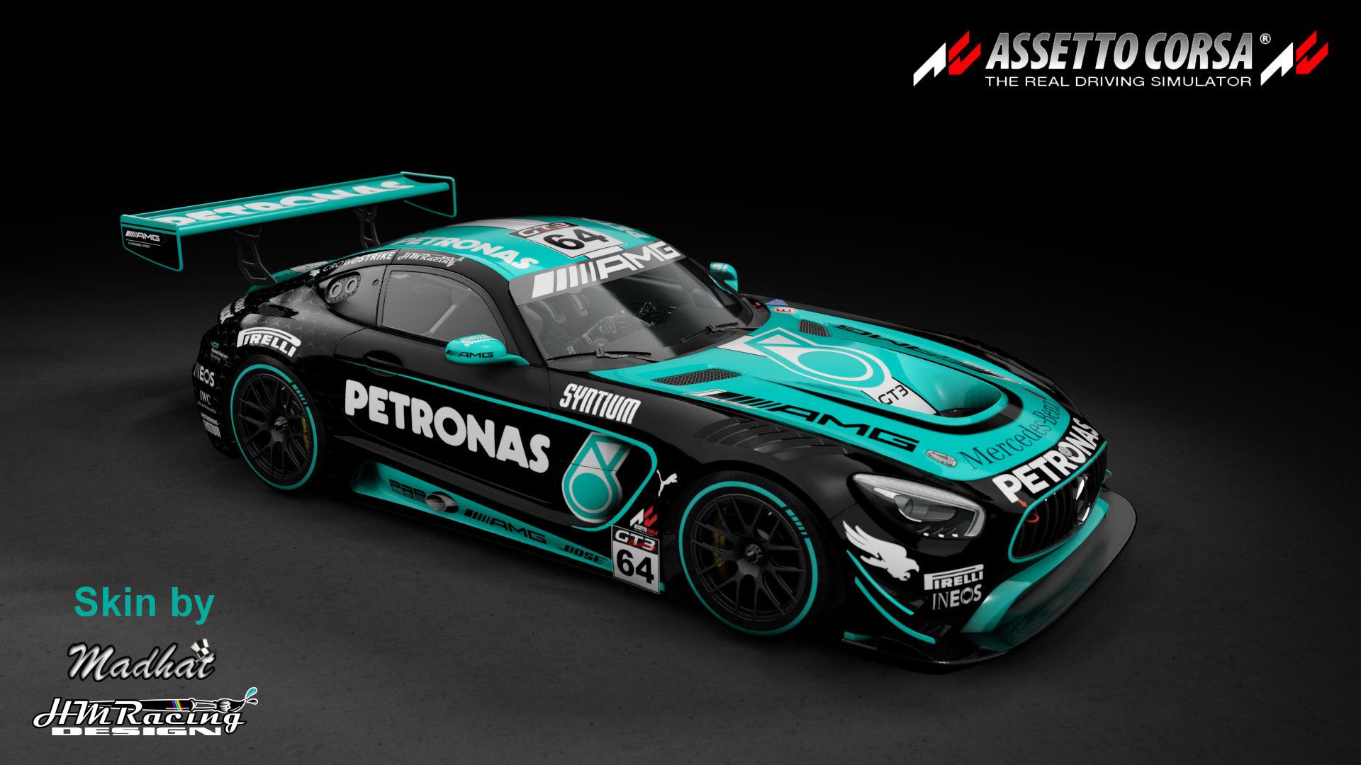 Mercedes AMG GT3 Petronas black 02.jpg
