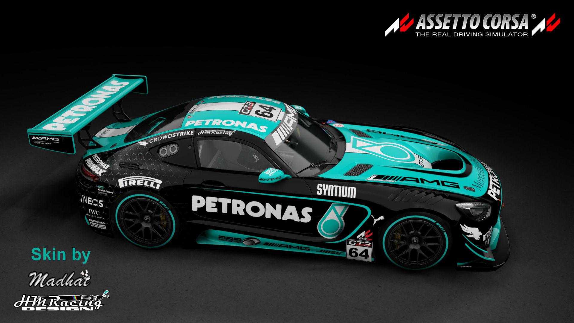 Mercedes AMG GT3 Petronas black 03.jpg