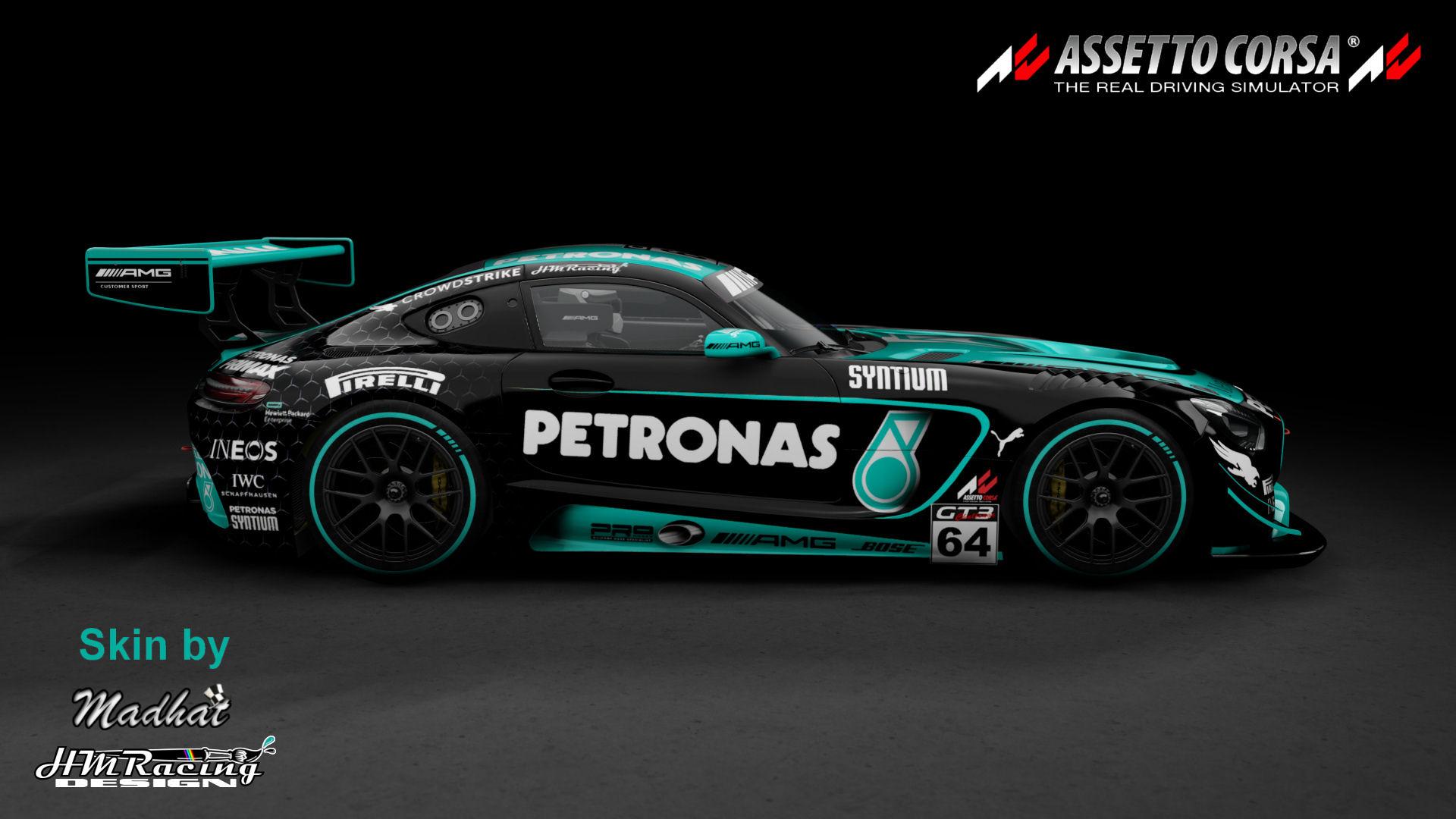 Mercedes AMG GT3 Petronas black 04.jpg