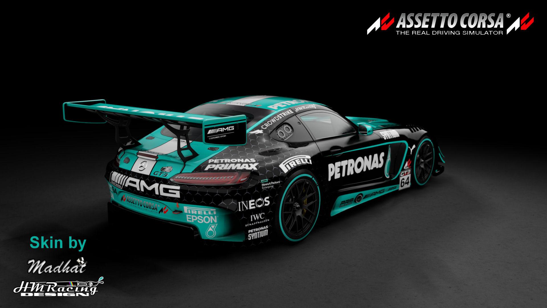 Mercedes AMG GT3 Petronas black 05.jpg