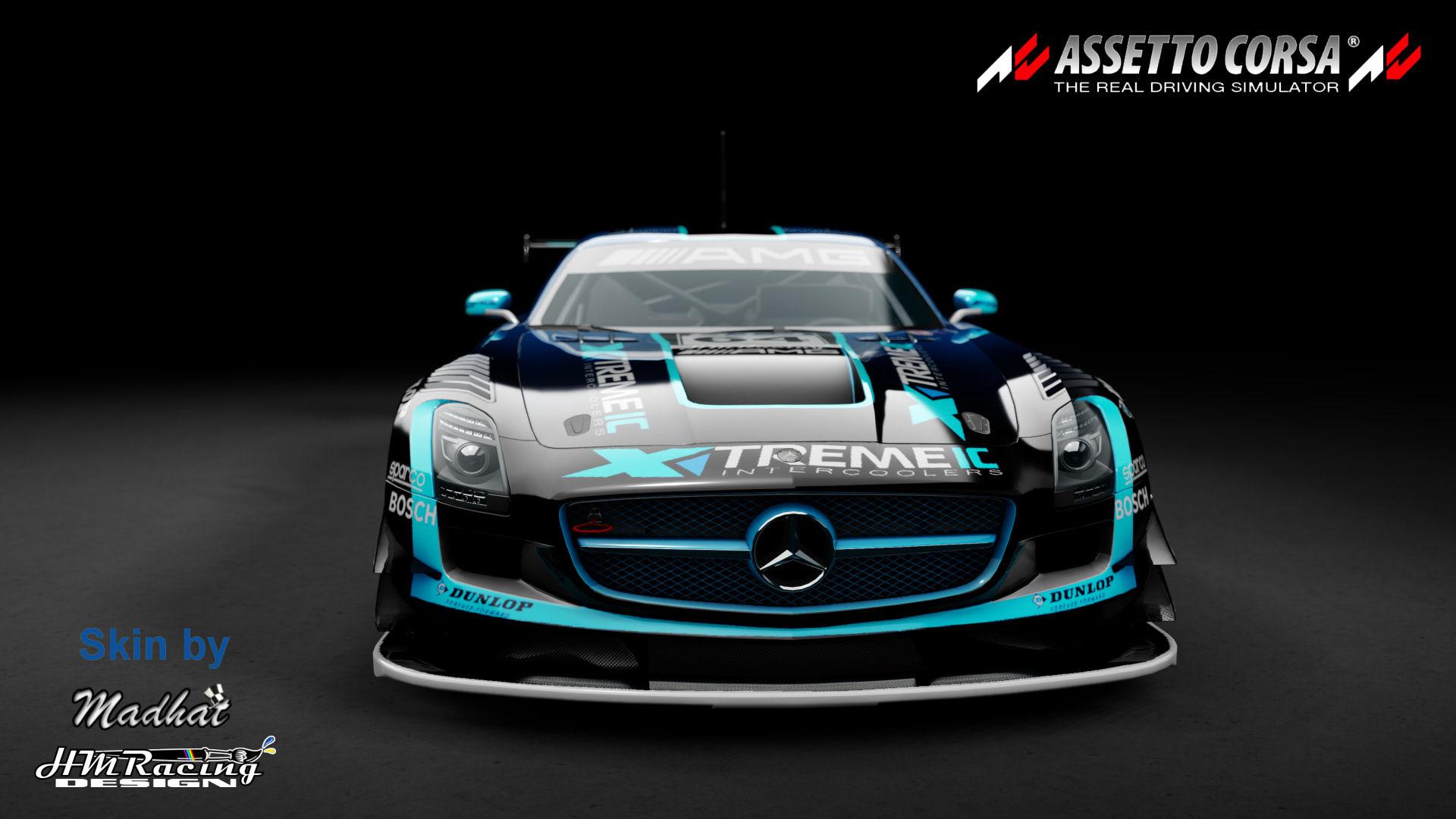 Mercedes SLS GT3 Xtremeic blue fade 01.jpg