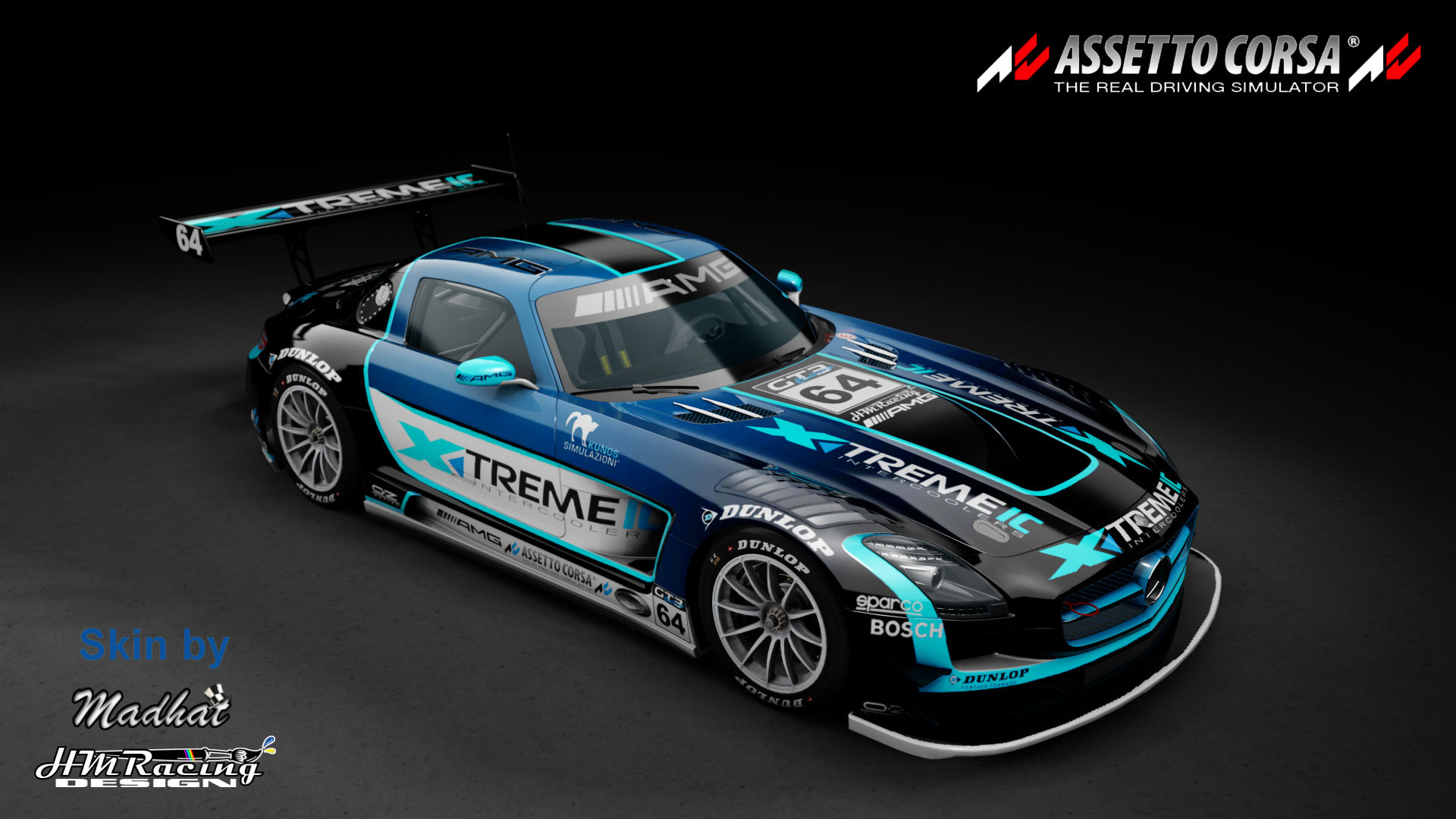 Mercedes SLS GT3 Xtremeic blue fade 02.jpg