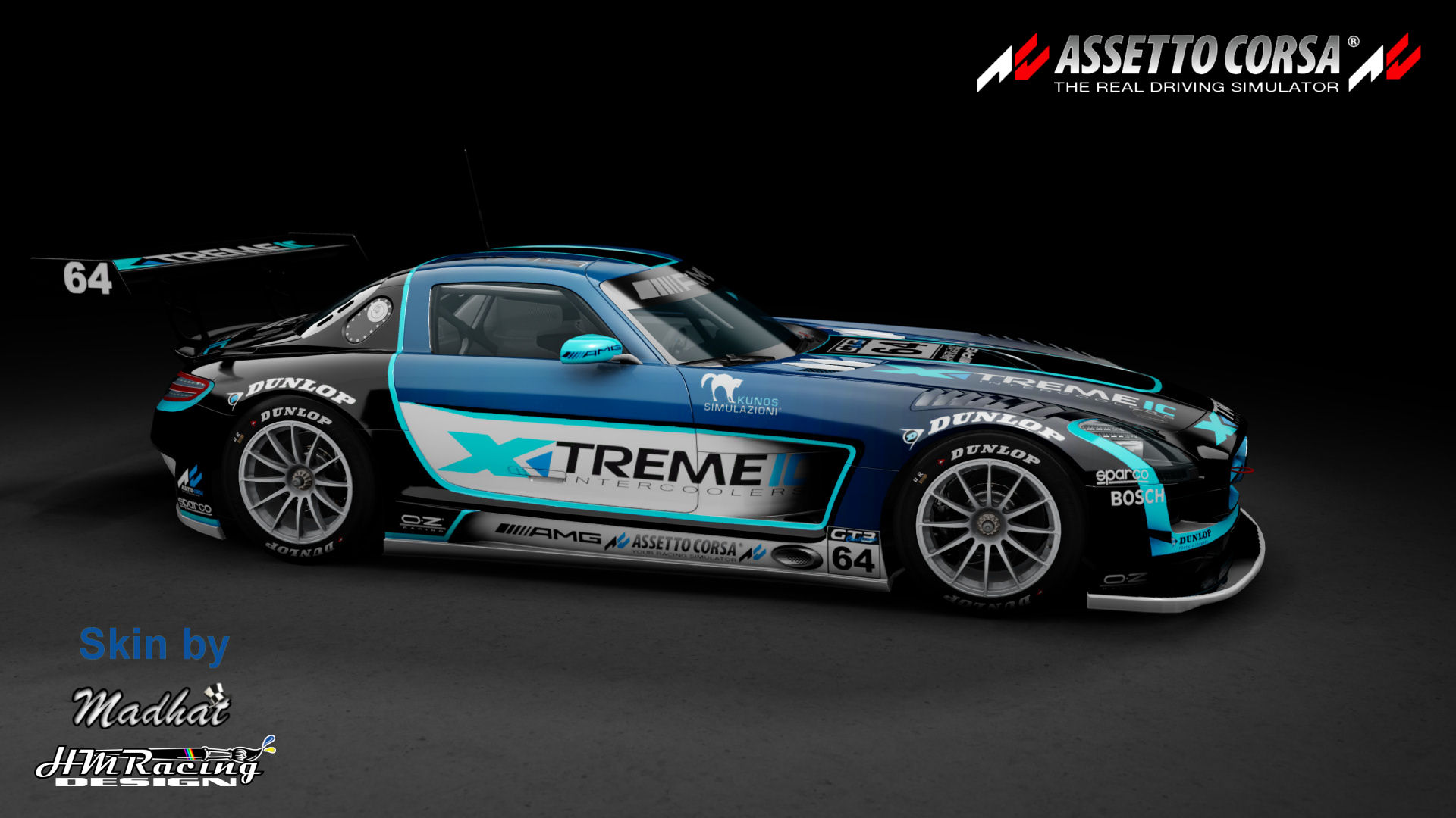 Mercedes SLS GT3 Xtremeic blue fade 03.jpg