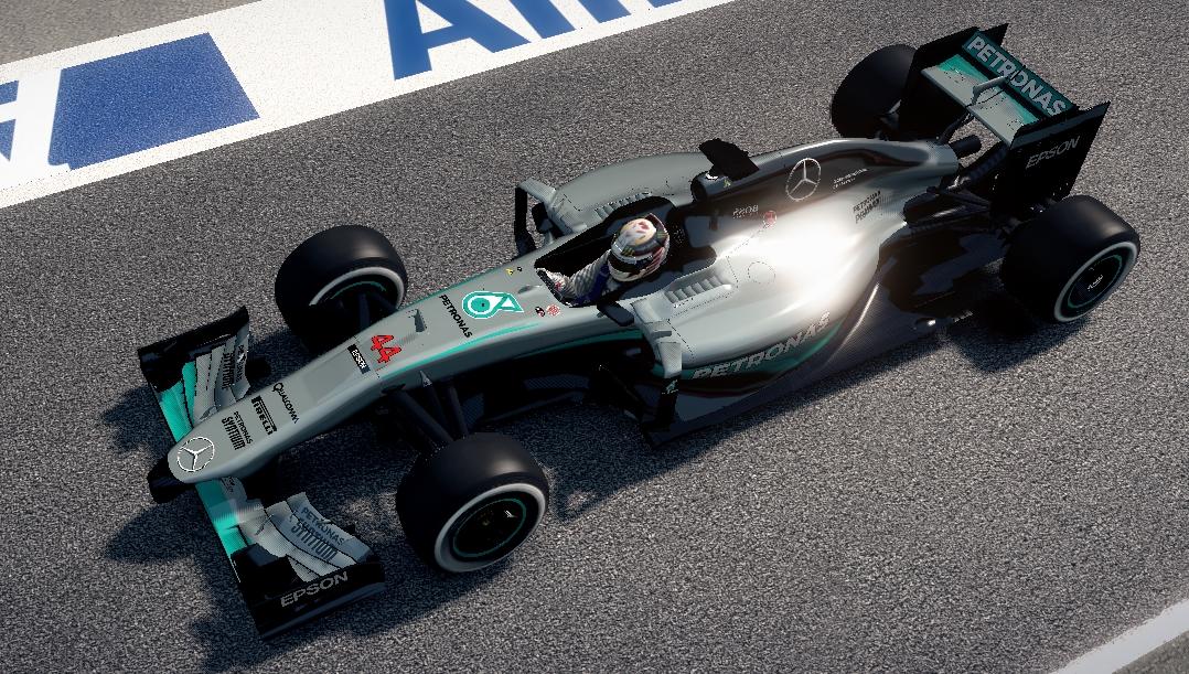 Mercedes W07 pitlane.jpg