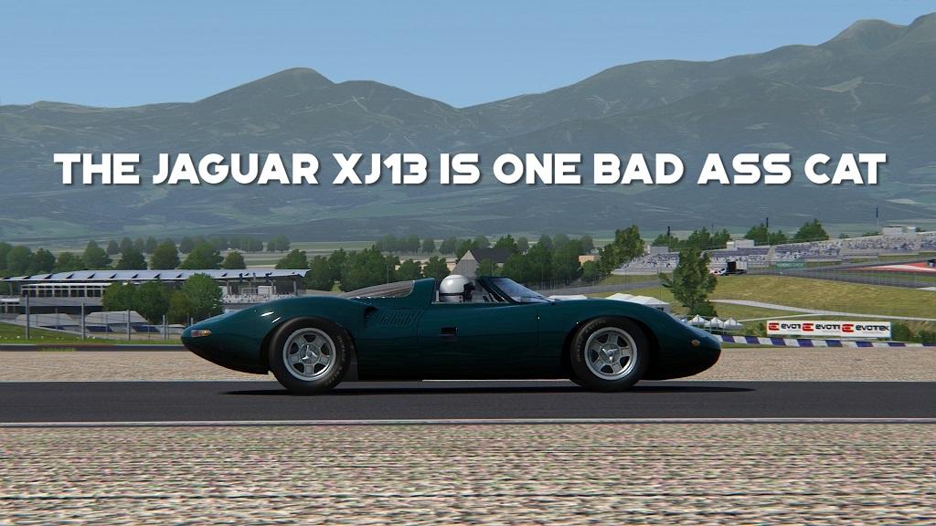 Mod Focus - The Jaguar XJ13 is One Bad Ass Cat - Assetto Corsa.jpg