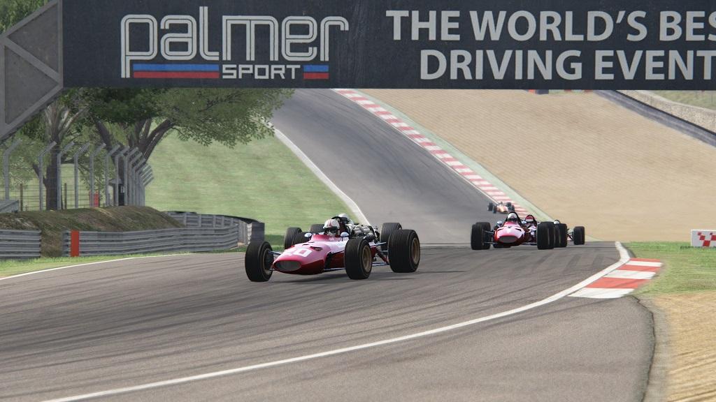 Monday 9th October - Ferrari 312 67 at Brands Hatch Grand Prix includes Lotus 49..jpg