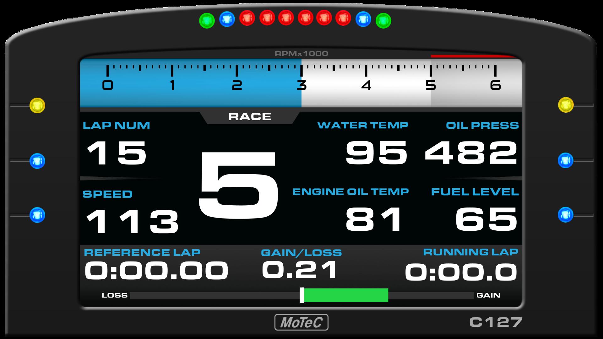 MoTeC C127 SimHub Dash | RaceDepartment - Latest Formula 1