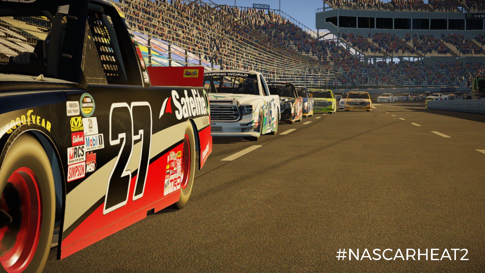 NASCAR Heat 2 Update Details Released   RaceDepartment