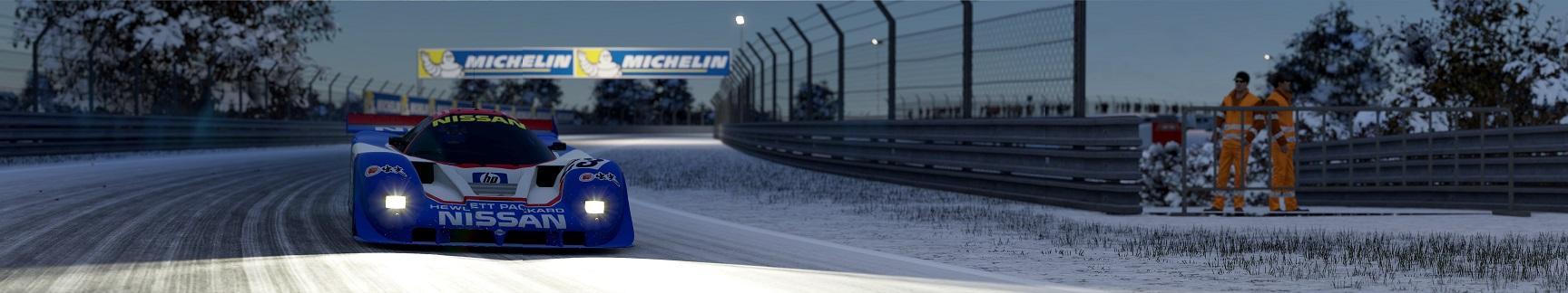 NISSAN at LeMANS in SNOW 6 copy.jpg
