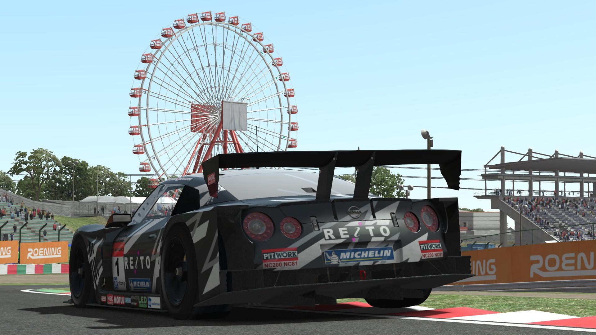 Nissan GT500 Released for rFactor 2   RaceDepartment