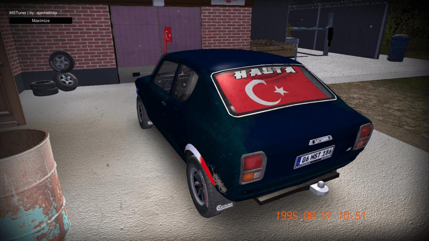 Turkish Flag Mod For Satsuma Racedepartment