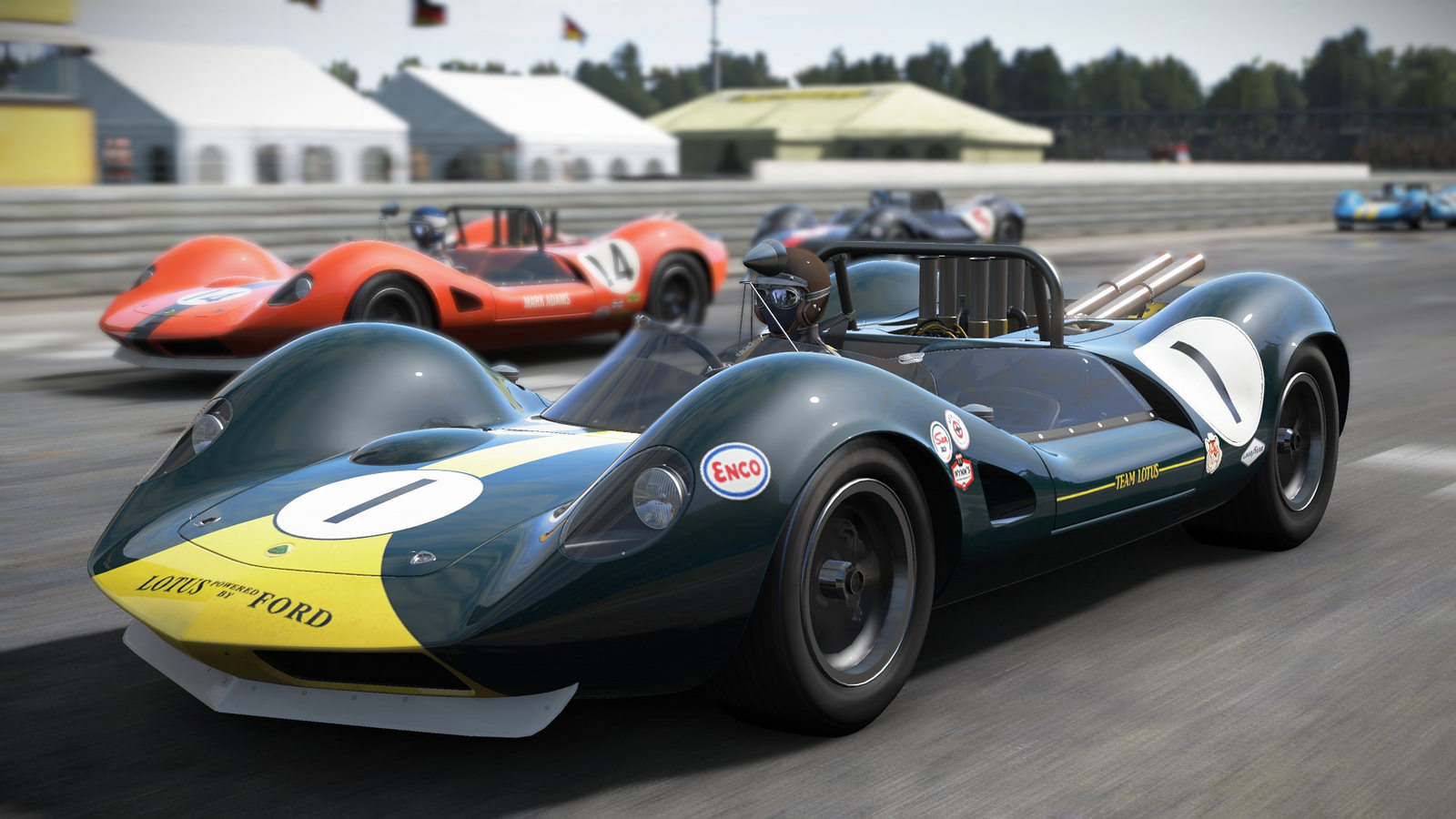 Released: PCARS Classic Lotus Track Expansion | RaceDepartment