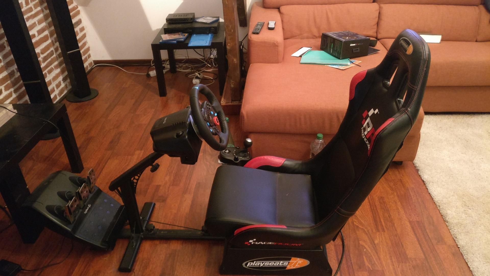 80e40e67a83 Sell - Playseats + Logitech G29 + Logitech Driving Force Shifter ...