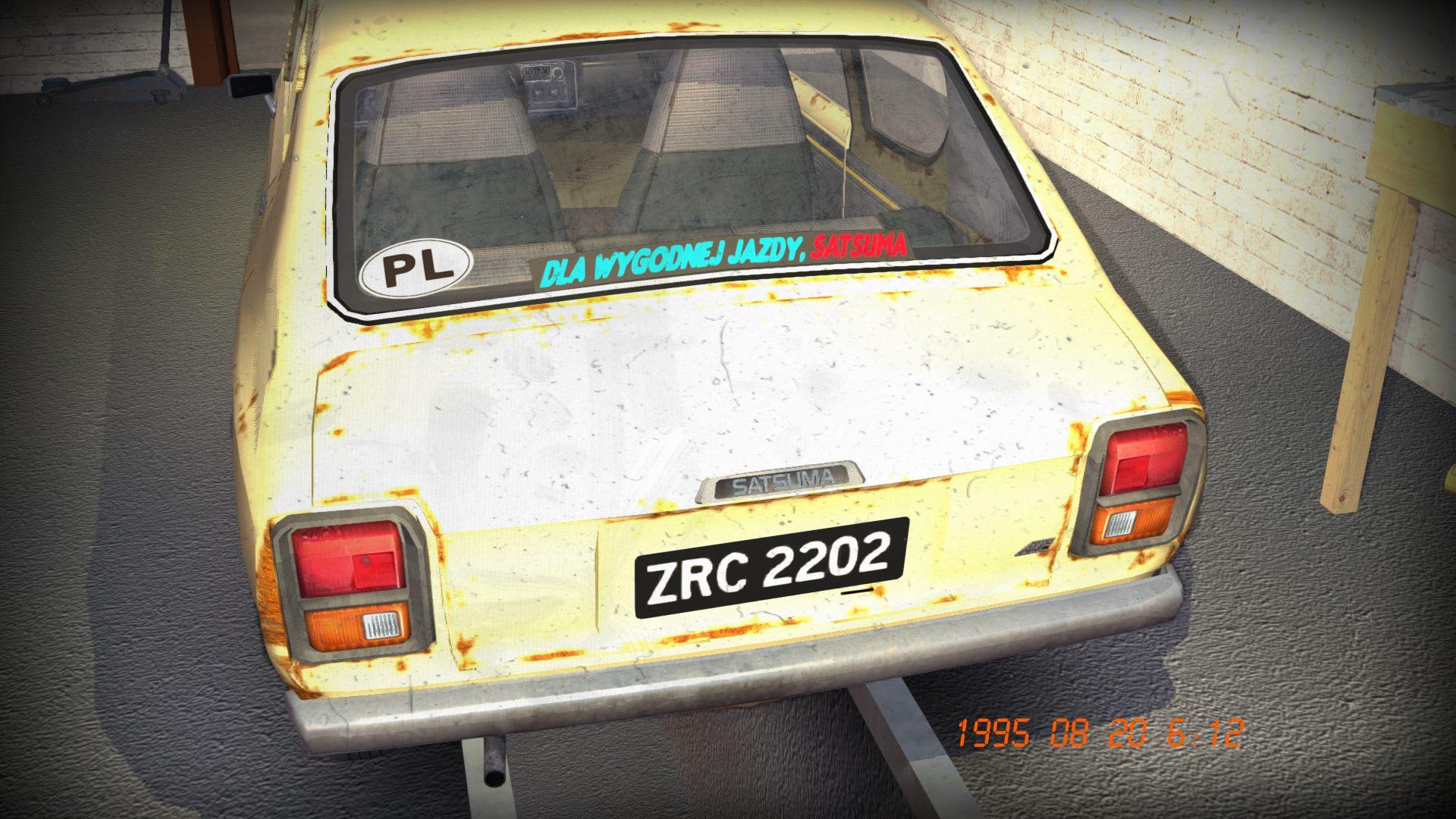 My Summer Car Polish Mod | RaceDepartment - Latest Formula 1