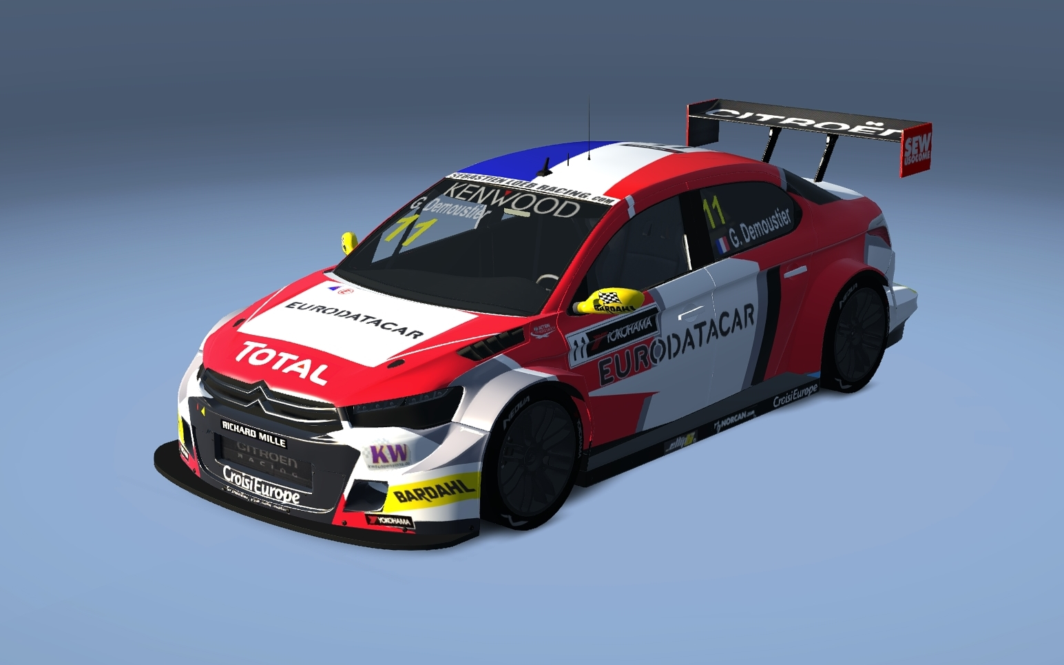 wtcc 2016 citroen c elysee sebastien loeb racing 3 11 25 racedepartment. Black Bedroom Furniture Sets. Home Design Ideas