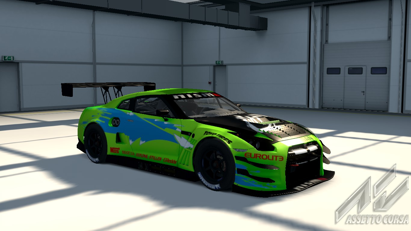 Nissan Gt R Gt3 Replica Fast And The Furious 2k