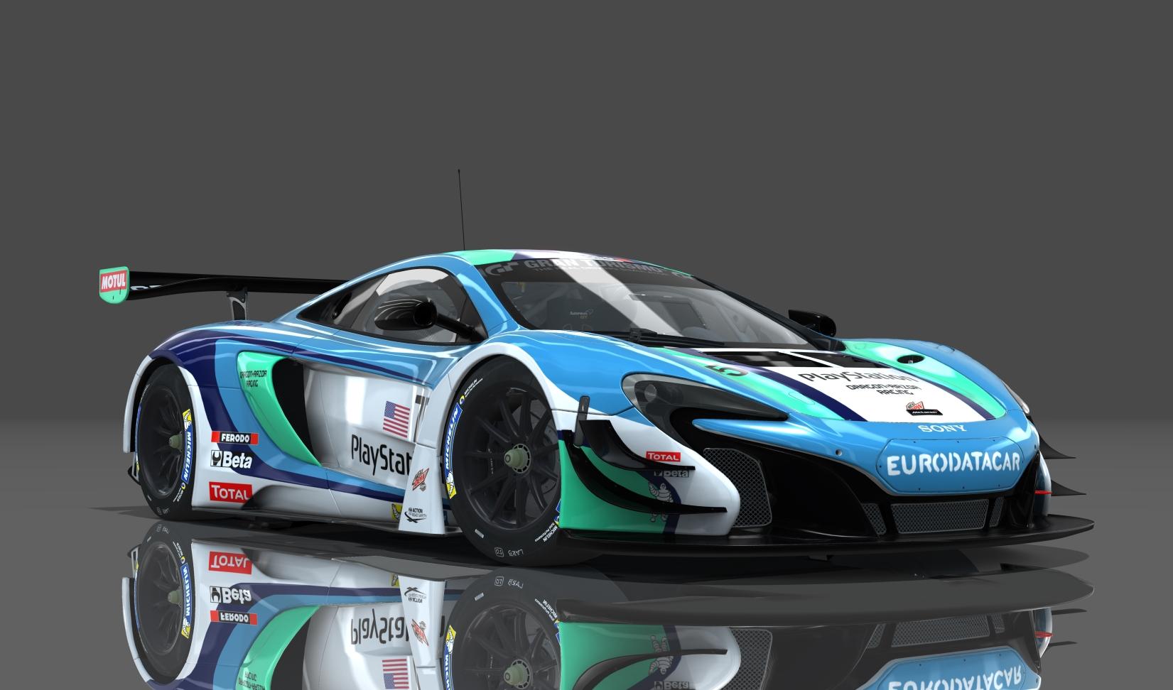 Mclaren 650s Gt3 >> Dragon Razor Racing Mclaren 650s Gt3 Fictional Skin
