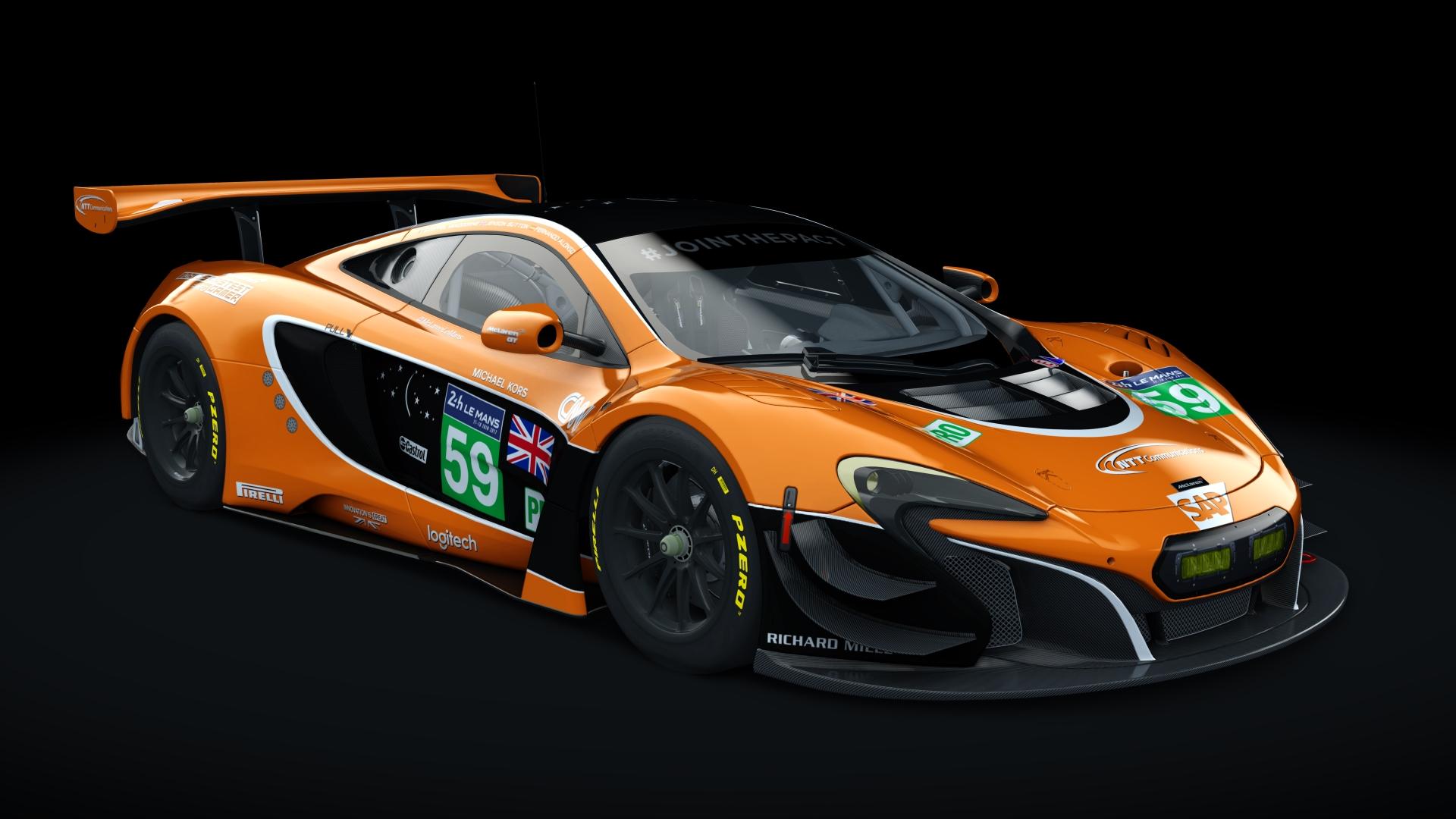 Mclaren 650s Gt3 >> Mclaren 650s Gt3 24h Le Mans 2017 Racedepartment