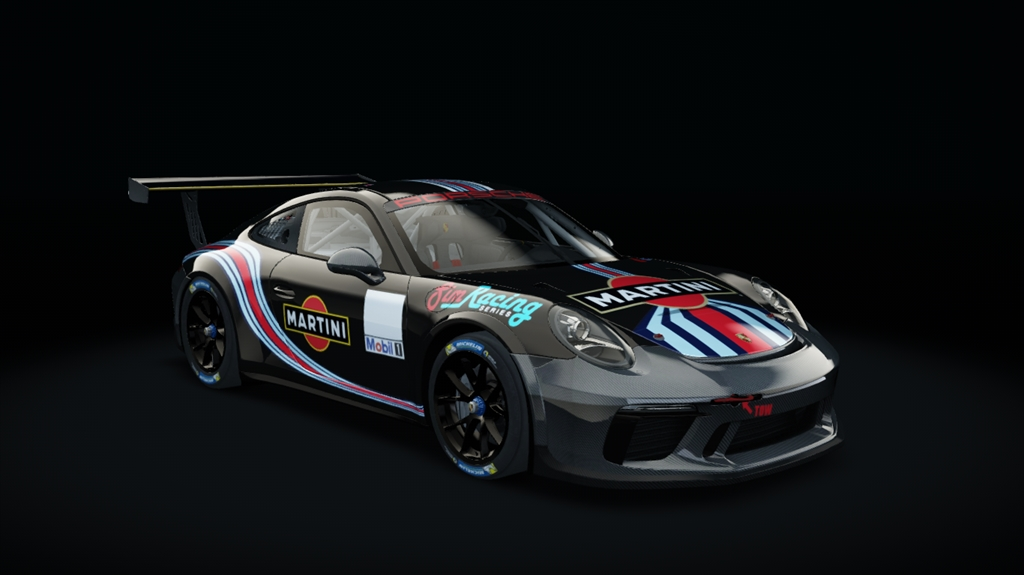 Porsche 911 Gt3 Cup 2017 Martini Cup For Srseries Black Edition Clean Version Racedepartment