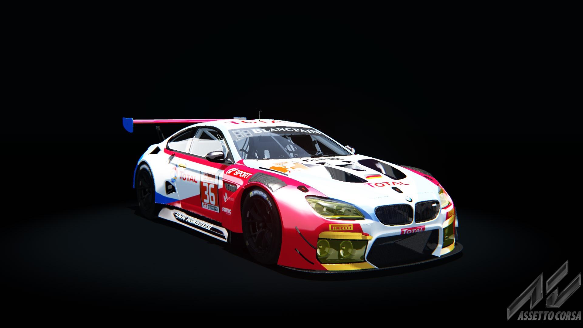 Bmw M6 Gt3 Walkenhorst Motorsports 36 24h Spa 2017