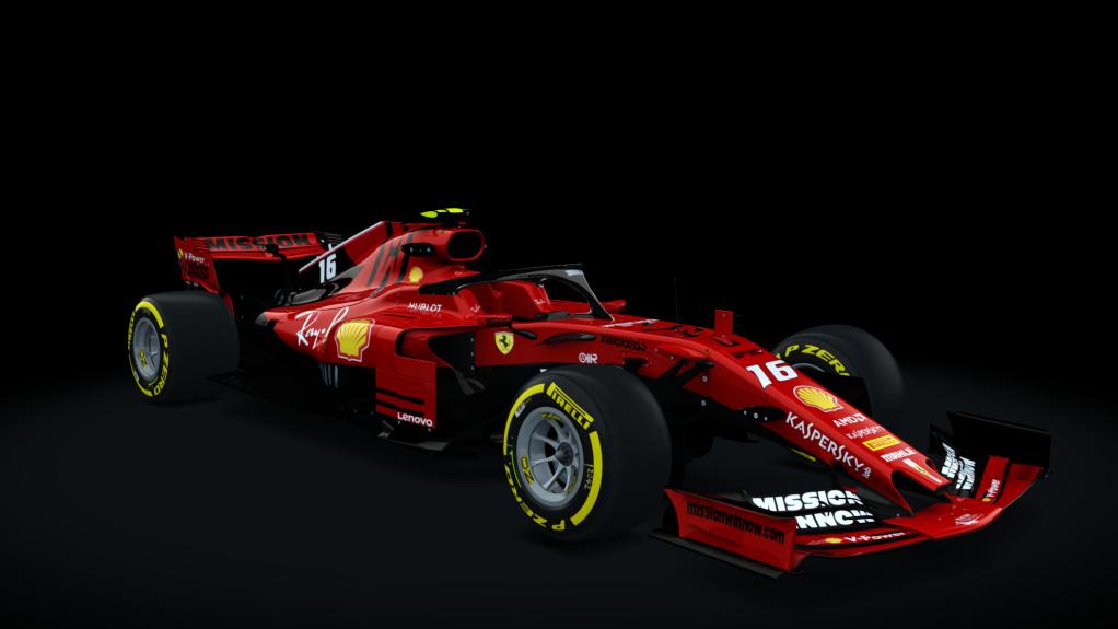Team Ferrari 2019 F1 Hybrid 2018 Racedepartment