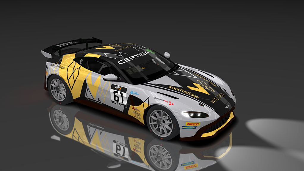 Gt4 European Series 2019 Academy Motorsport Aston Martin Vantage Amr Gt 61 Guerilla Gt4 Mods Updates Racedepartment
