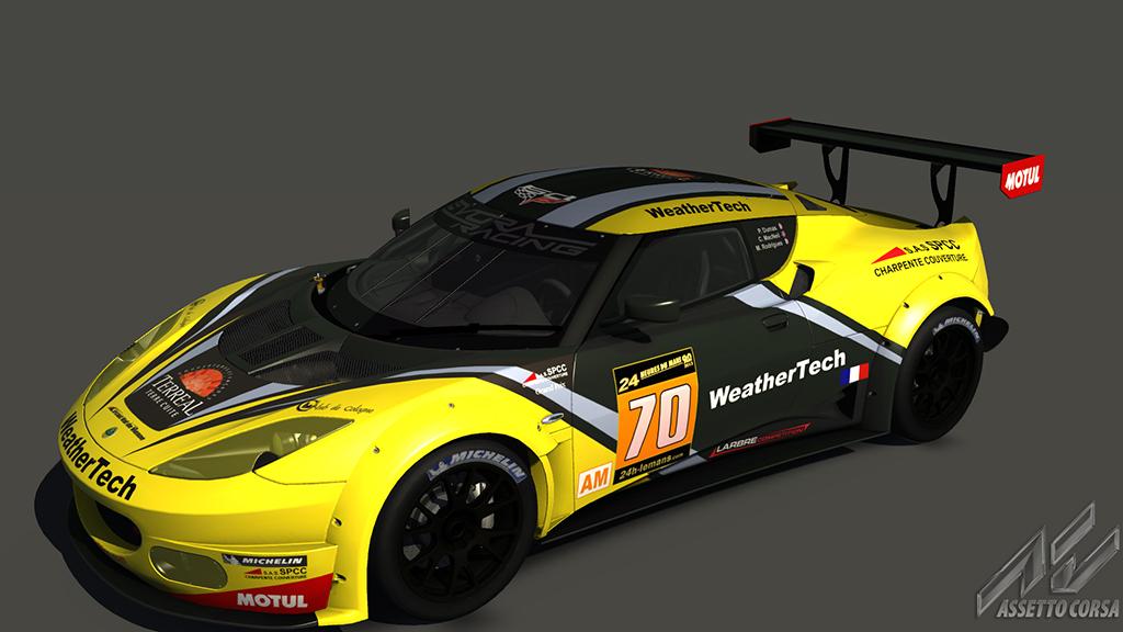 Lotus Evora GX - Larbre Competition (Corvette Skin) | RaceDepartment