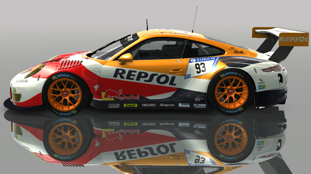 porsche 911 gt3 r 2016 repsol racedepartment. Black Bedroom Furniture Sets. Home Design Ideas