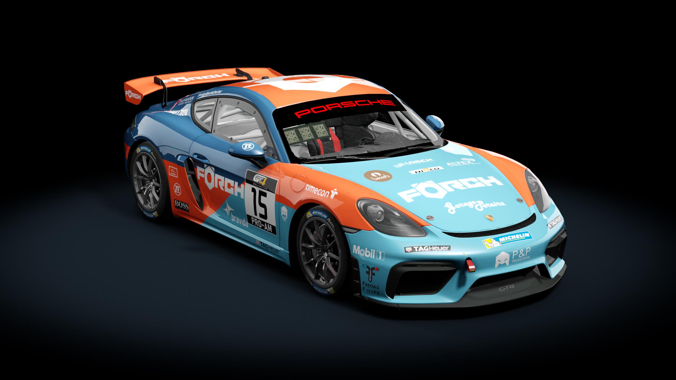 Guerilla Mods Porsche Cayman Gt4 Forch Racing Racedepartment