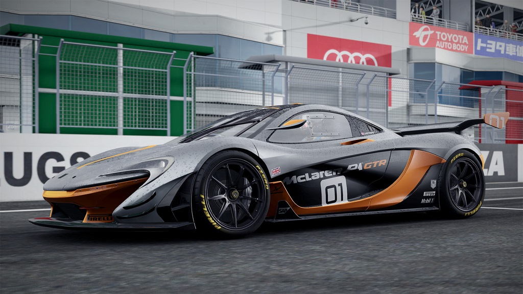 ... Project CARS 2   McLaren P1 GTR 3 ...