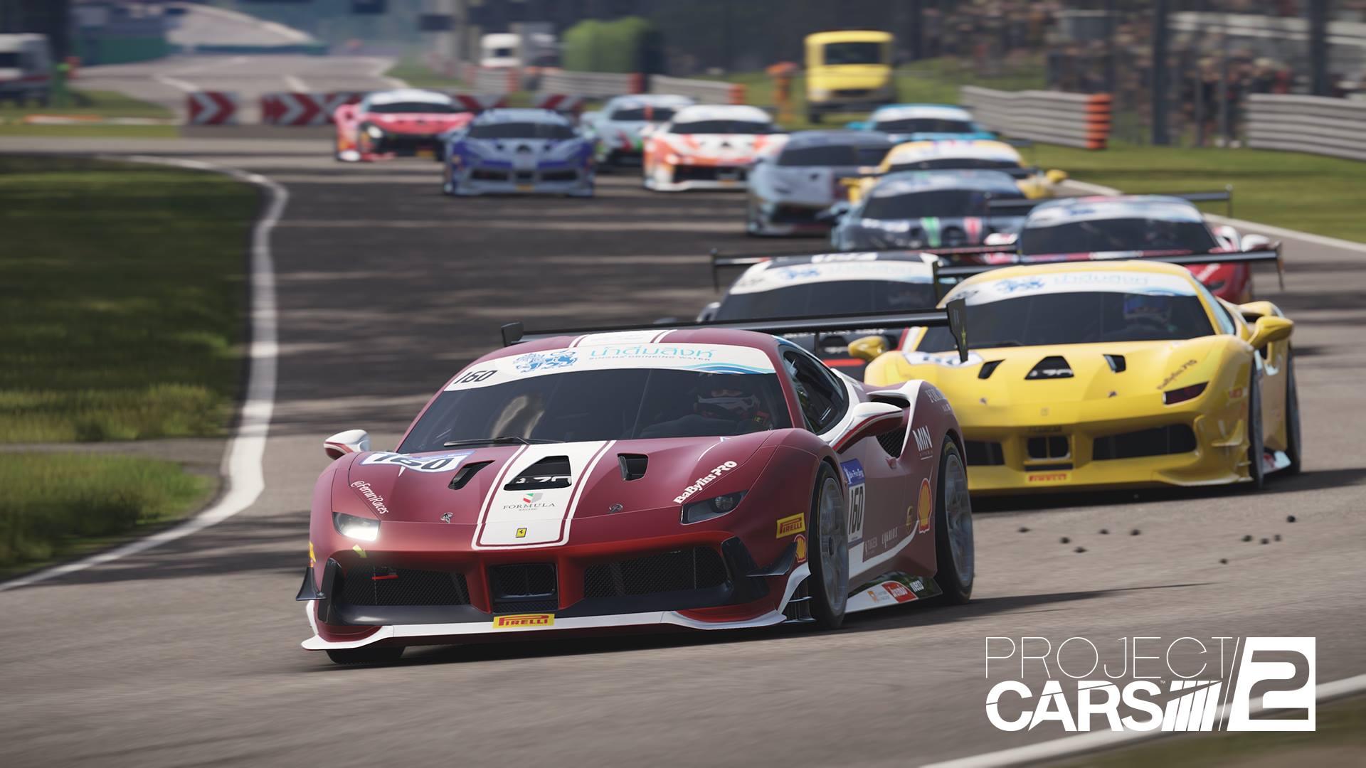 Ferrari 488 Challenge Heads List Project Cars 2 Update Notes ...