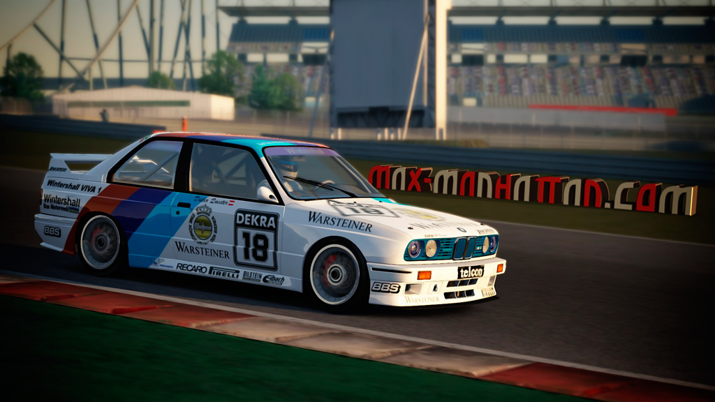 Bmw M3 E30 Dtm 1990 Team Zakspeed Skin Pack Racedepartment