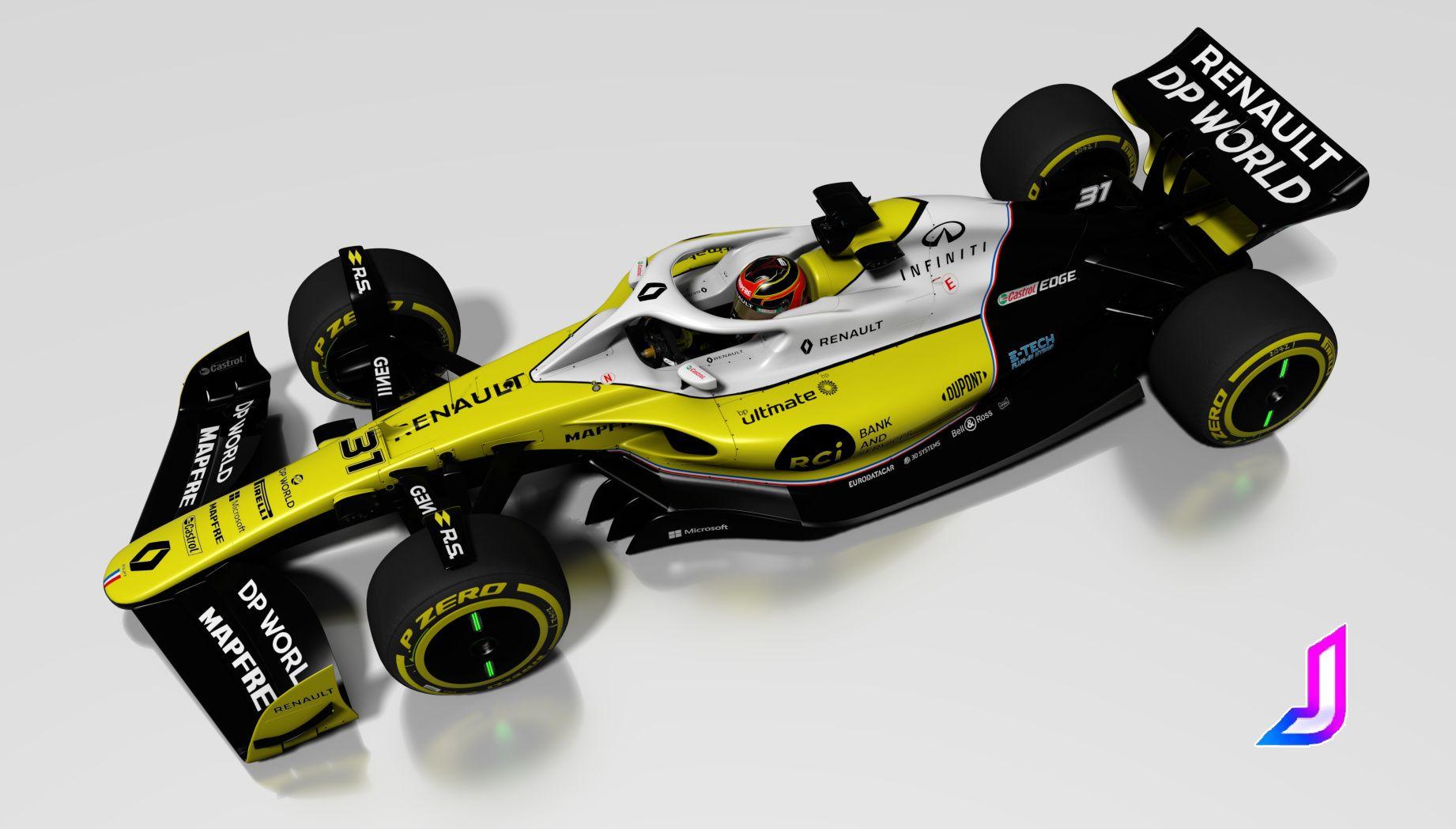 Renault F1 2022 fantasy skin   RaceDepartment