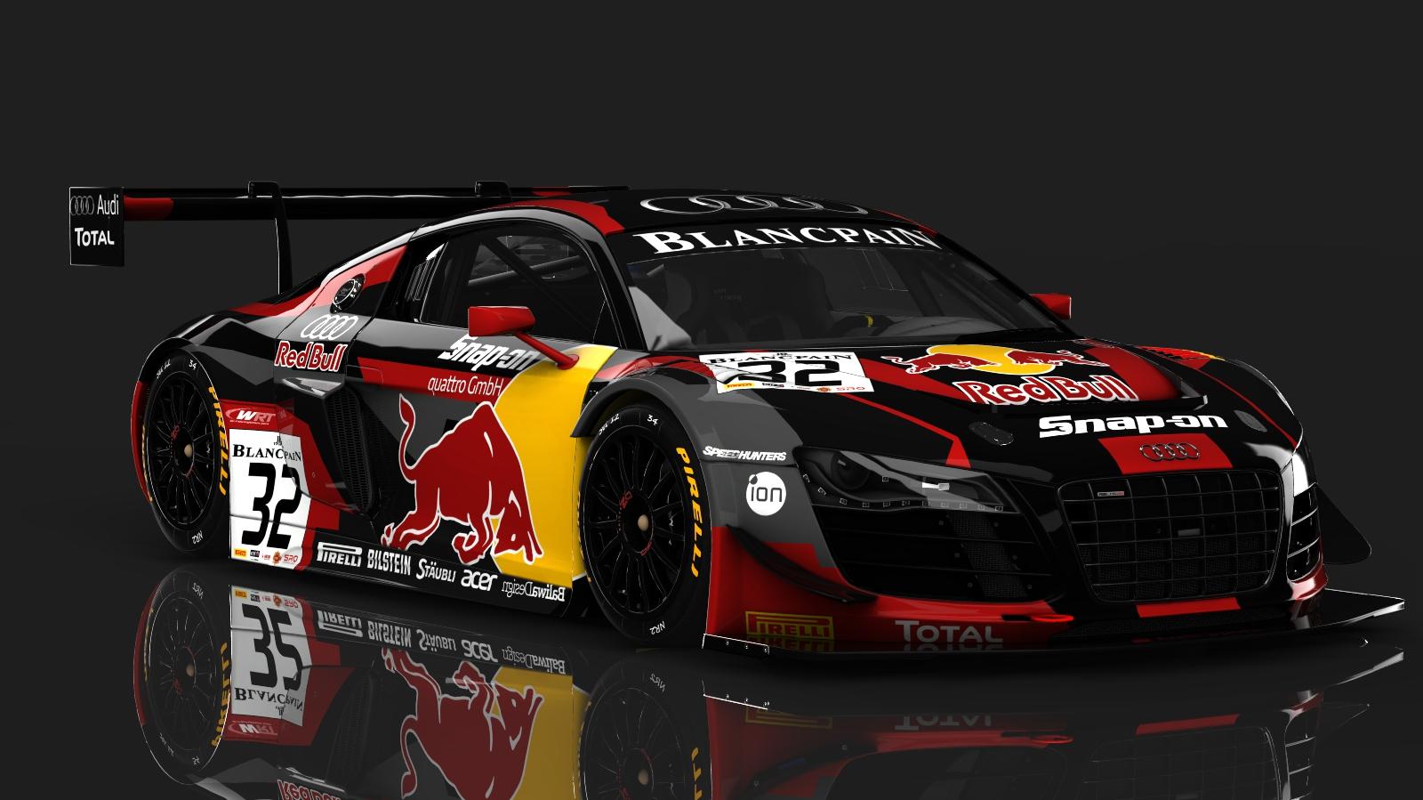 Skins Redbull Audi R8 Lms Racedepartment