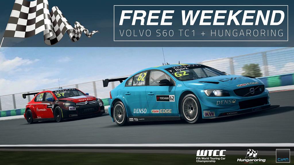 RaceRoom Free Weekend - Volvo S60 TC1 Hungaroring .png