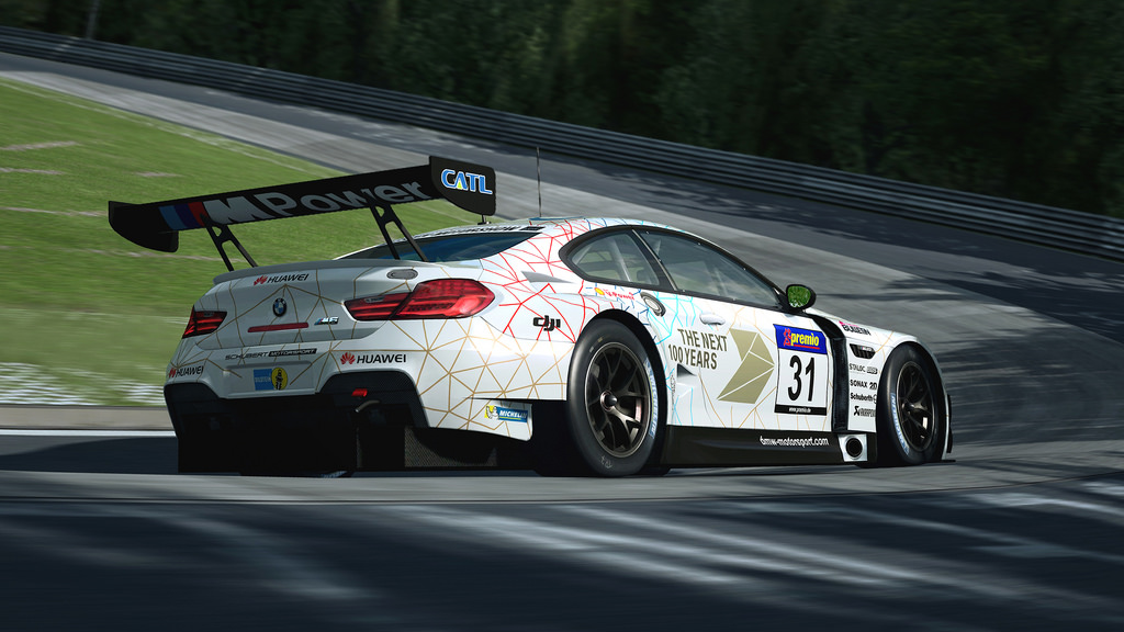 RaceRoom BMW M6 GT3 Preview Videos - Spa and Oschersleben ...