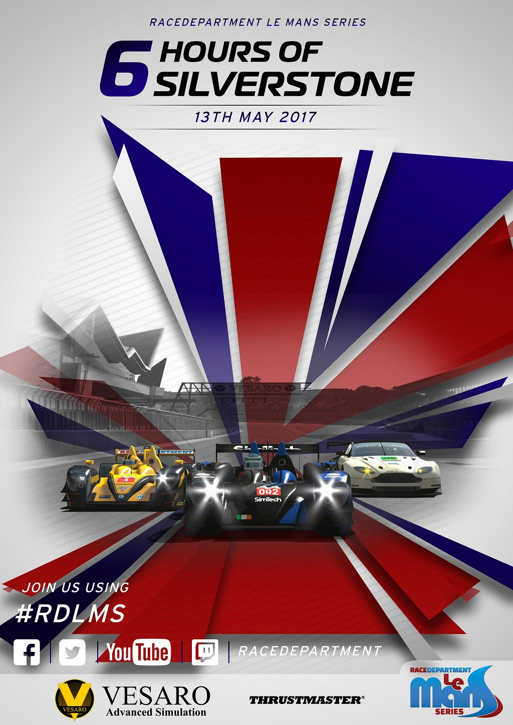 RDLMS by Vesaro Round 2 - Silverstone Poster.jpg