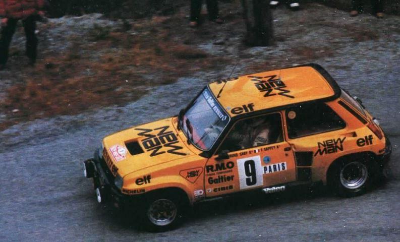 Renault 5 Turbo N°9 B.Saby- Monte Carlo 1982.JPG