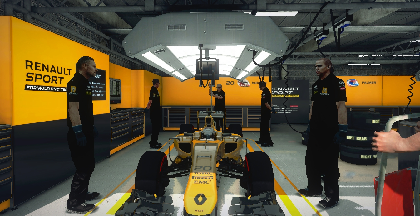 Complete 2016 hd f1 renault r team package updated for Renault garage pantin
