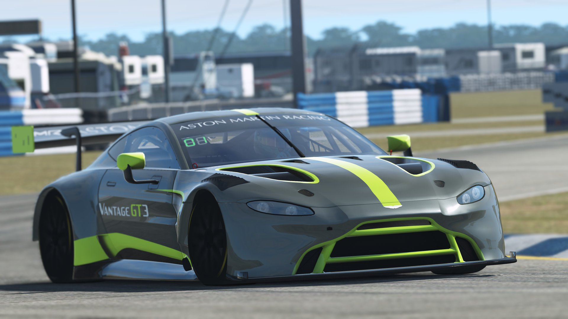 rF2: Aston Martin Vantage GT3 Released | RaceDepartment - Latest