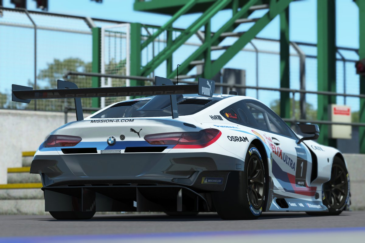 e3 2018 studio 397 announce bmw m8 gte for rfactor 2 racedepartment. Black Bedroom Furniture Sets. Home Design Ideas