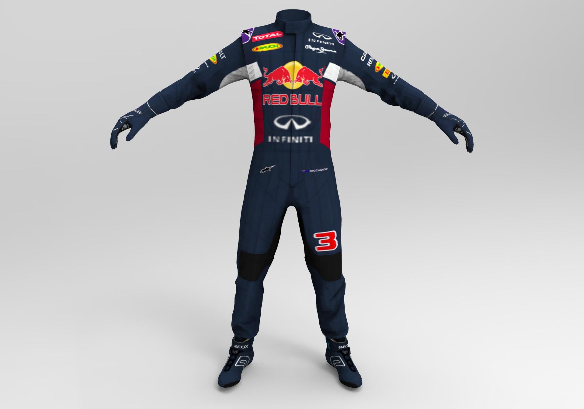 Hackett F1 2015 Red Bull Race Suit Racedepartment