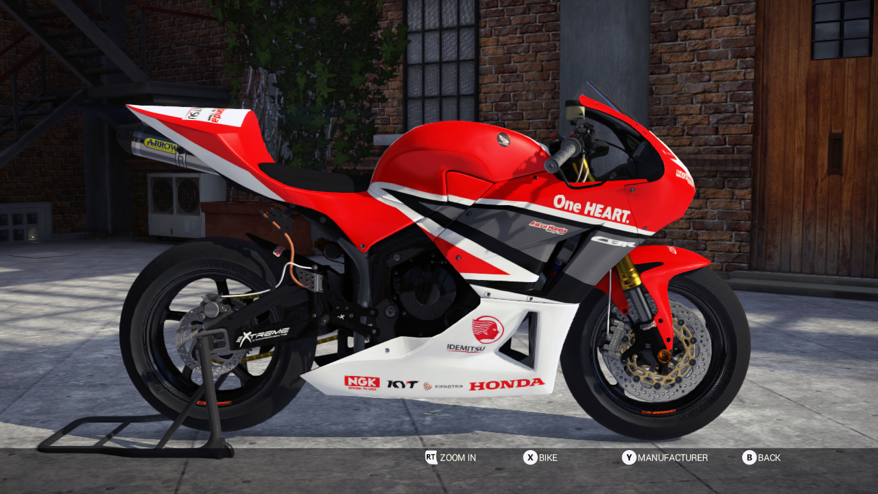 cbr600rr race bike  astra honda racing team v1 0