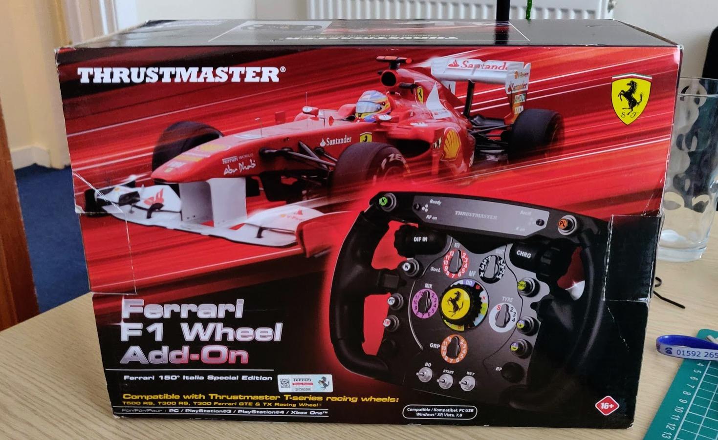Sell Thrustmaster Ferrari F1 Wheel Racedepartment