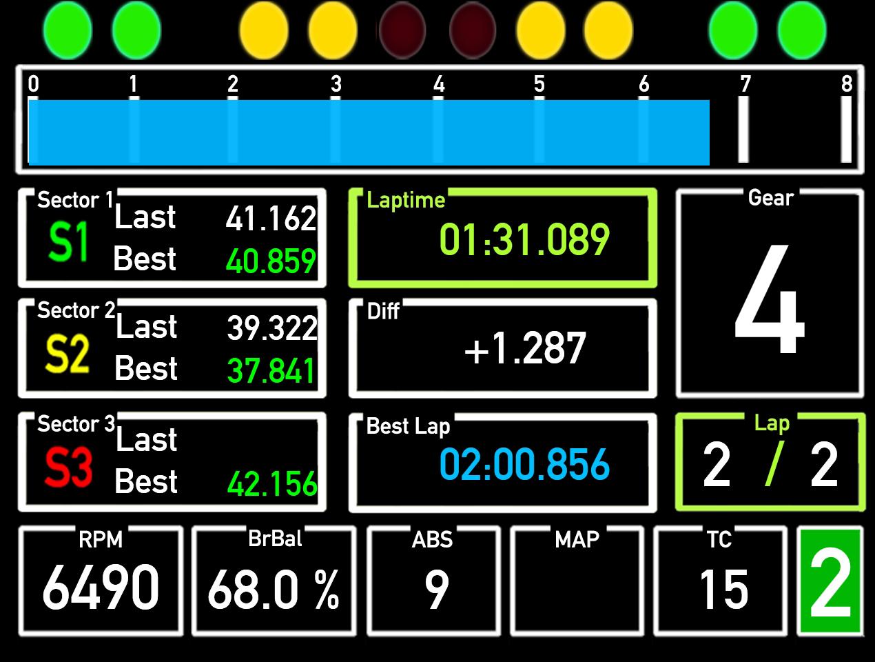 F1Simgames Mercedes AMG GT3 Dashboard v1 0 for SimHUB - F1Simgames