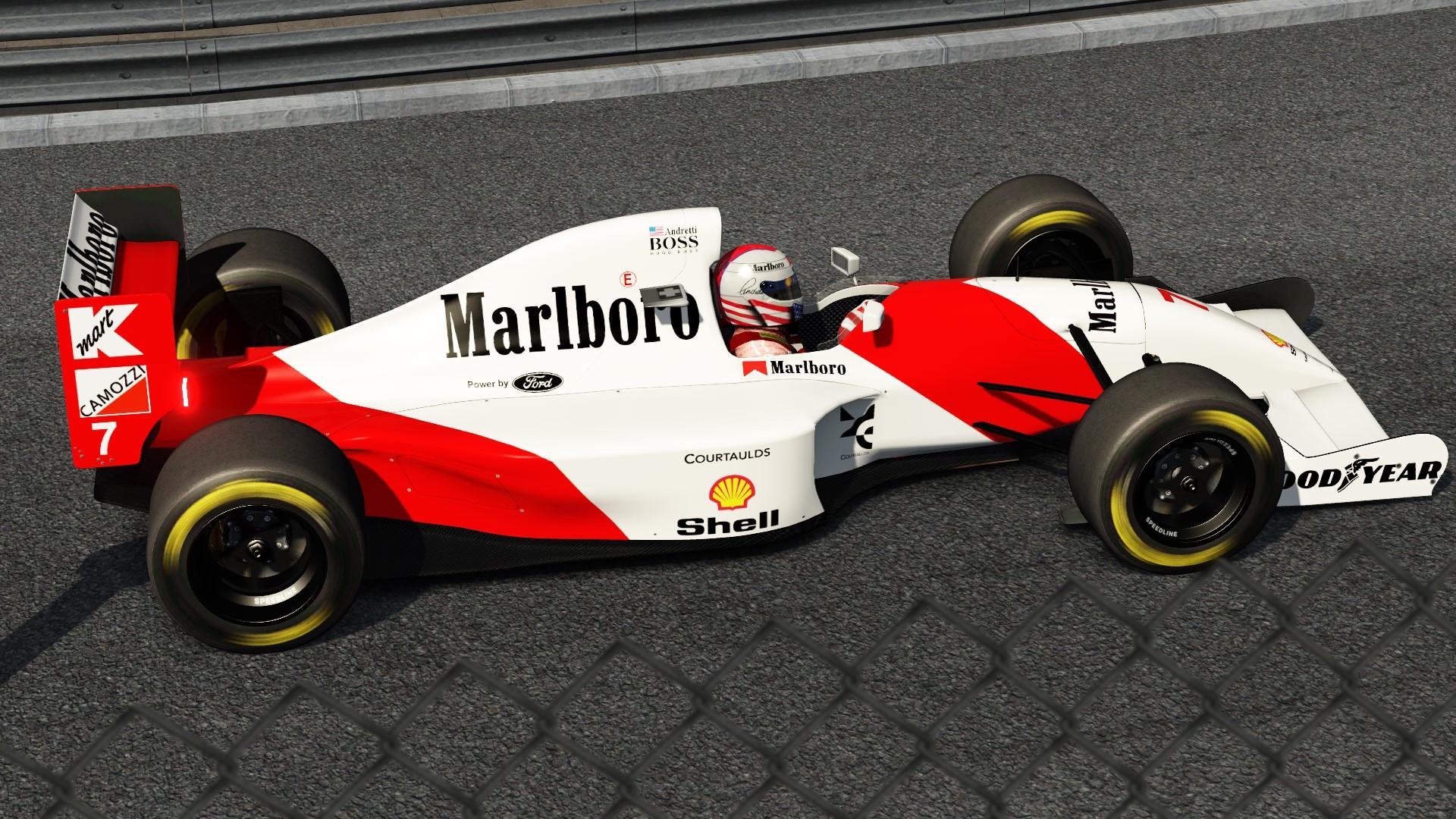1993 Mclaren Mp4 8 Skin Racedepartment Latest Formula